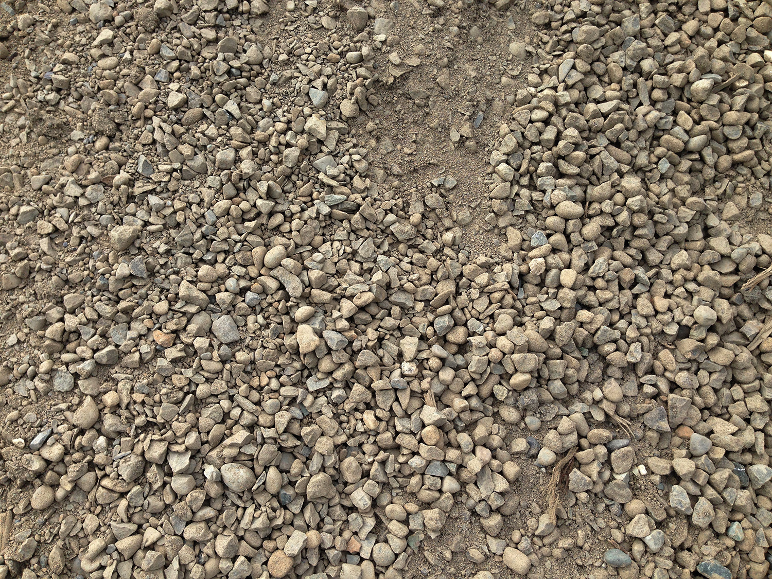 3 4 Quot Crushed Gravel : Road crush renuable resources campbell river