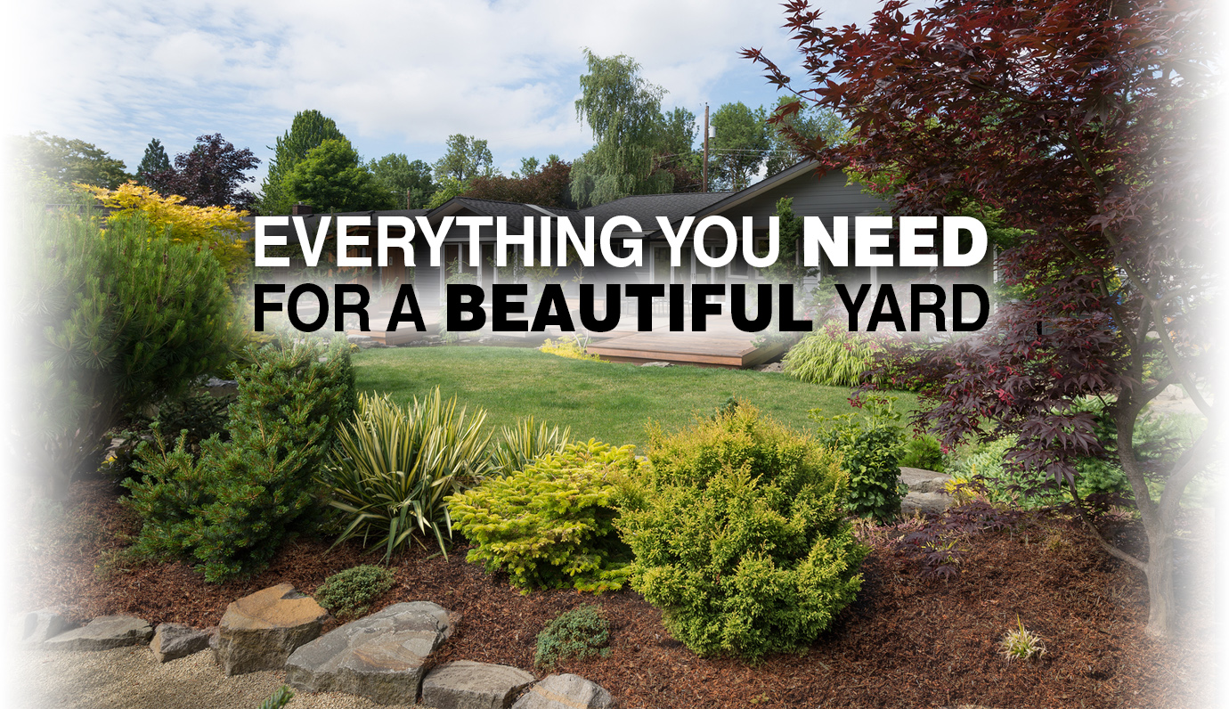 Landscaping products for a beautiful yard