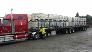 Grassoline B-train Renuable Resources Campbell River