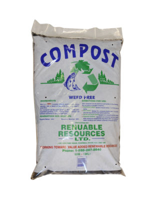 bagged compost Renuable Resources Campbell River