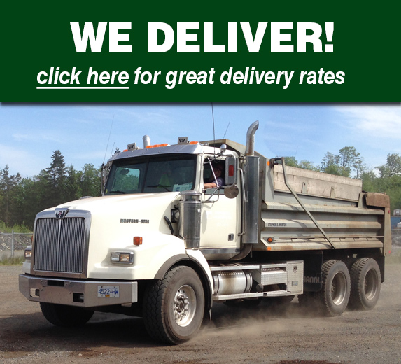 Landscape products Campbell River delivery