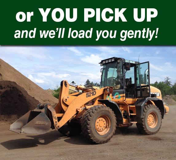 Landscape products Campbell River Pickup
