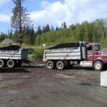 Campbell River trucking and landscape product deliveries