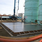 new Grassoline tanks going in